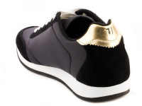 Кроссовки женские Trussardi Jeans 79S611 BLACK/GOLD цена обуви, 2017