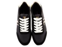 Кроссовки женские Trussardi Jeans 79S611 BLACK/GOLD брендовая обувь, 2017