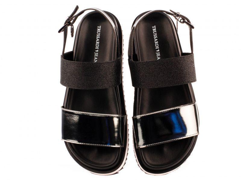 Босоножки женские Trussardi Jeans 79S585 BLACK GLITTE фото, купить, 2017