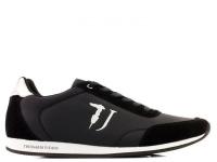 Кроссовки женские Trussardi Jeans 77S611 119 BLACK/SILVER размерная сетка обуви, 2017
