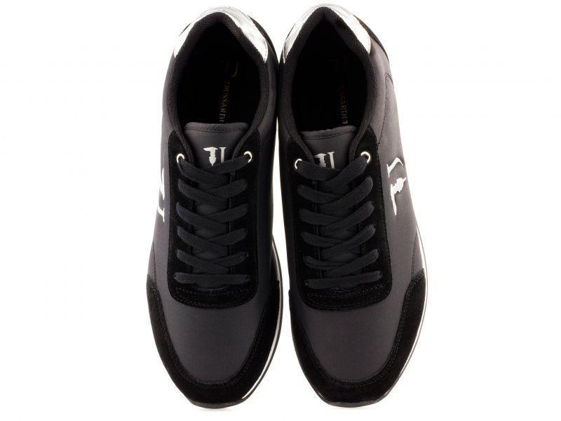 Кроссовки женские Trussardi Jeans 77S611 119 BLACK/SILVER цена, 2017