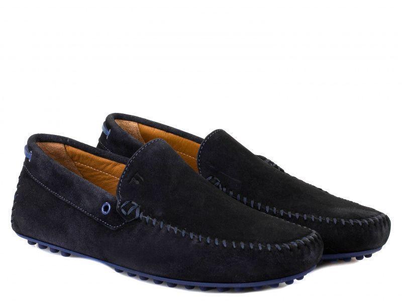 Купить Мокасины для мужчин Trussardi Jeans 4H11, Синий