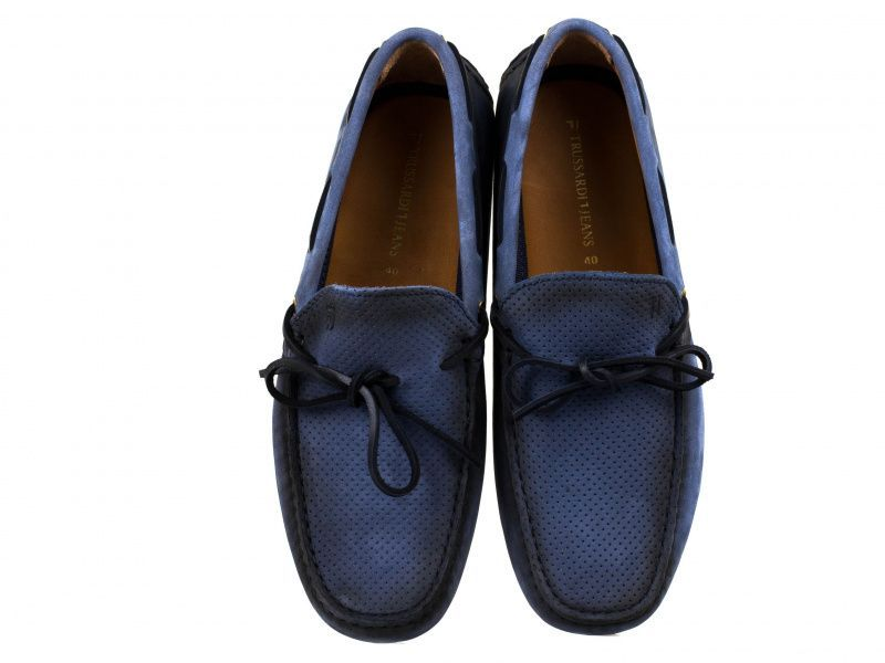 Мокасины для мужчин Trussardi Jeans 4H12 примерка, 2017