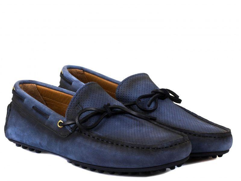 Купить Мокасины для мужчин Trussardi Jeans 4H12, Синий