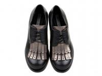 Полуботинки для женщин Tosca Blu SF1716S306 ANTIQUE GOLD размерная сетка обуви, 2017