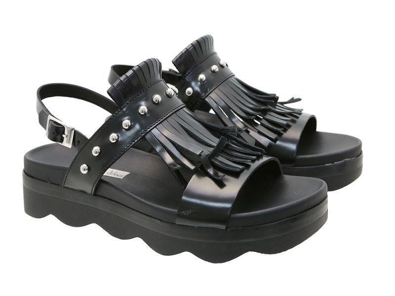 Сандалі  для жінок Tosca Blu SS1817S323 BLACK ціна взуття, 2017