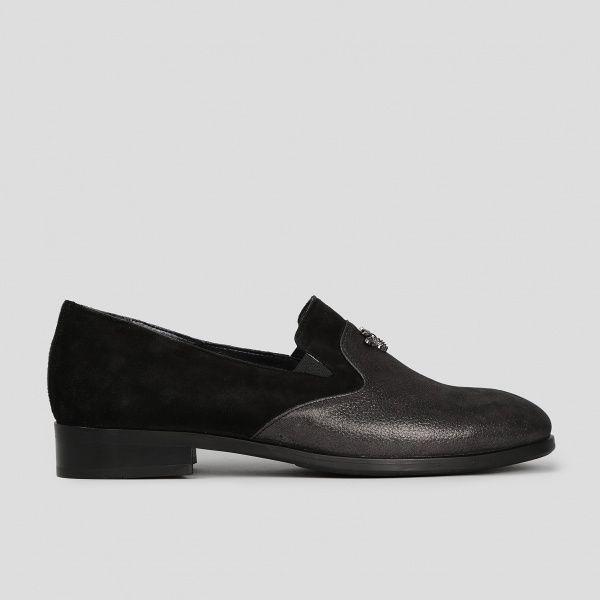 Туфли для женщин Туфли 511712311 чорна шкіра/замша 511712311 цена, 2017