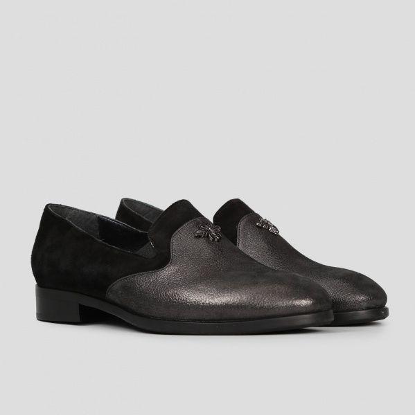 Туфли для женщин Туфли 511712311 чорна шкіра/замша 511712311 брендовая обувь, 2017