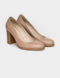 Туфлі  для жінок Лодочки 53014516-1 розово-бежевая кожа 53014516-1 фото, купити, 2017