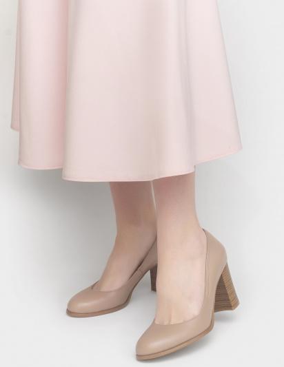 Туфлі  для жінок Лодочки 53014516-1 розово-бежевая кожа 53014516-1 , 2017
