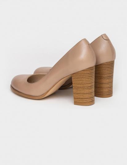 Туфлі  для жінок Лодочки 53014516-1 розово-бежевая кожа 53014516-1 замовити, 2017