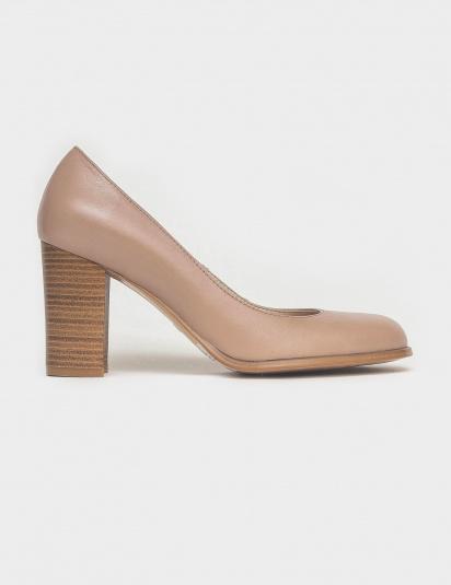 Туфлі  для жінок Лодочки 53014516-1 розово-бежевая кожа 53014516-1 безкоштовна доставка, 2017