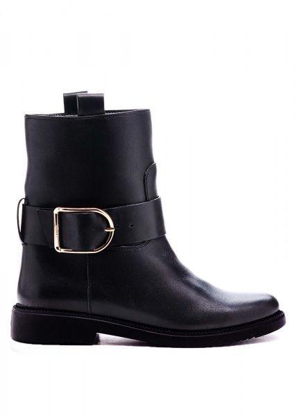 Купить Ботинки женские 530502 Черные кожаные ботинки 530502, Modus Vivendi