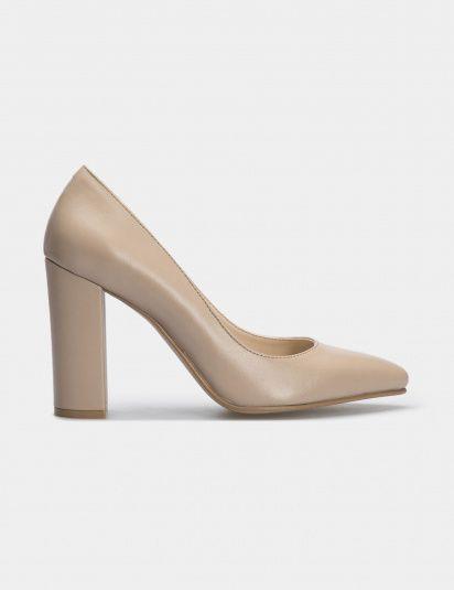 Туфли для женщин Лодочки 54587448-3 бежевая кожа 54587448-3 размерная сетка обуви, 2017