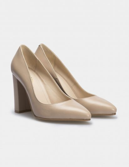 Туфли для женщин Лодочки 54587448-3 бежевая кожа 54587448-3 цена, 2017