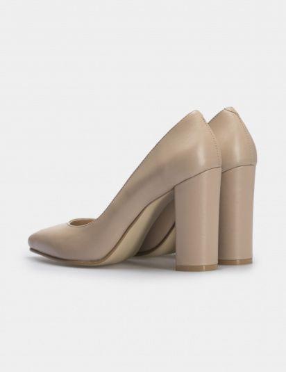 Туфли для женщин Лодочки 54587448-3 бежевая кожа 54587448-3 выбрать, 2017