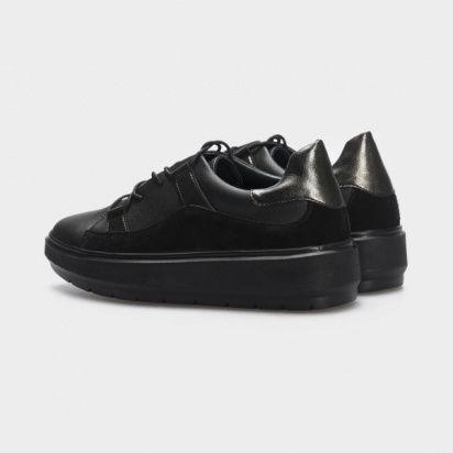 Кеды для женщин Кеды 548829211 черная кожа/замш 548829211 размерная сетка обуви, 2017