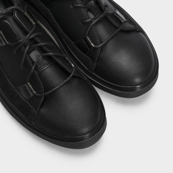 Кеды для женщин Кеды 548829211 черная кожа/замш 548829211 брендовая обувь, 2017