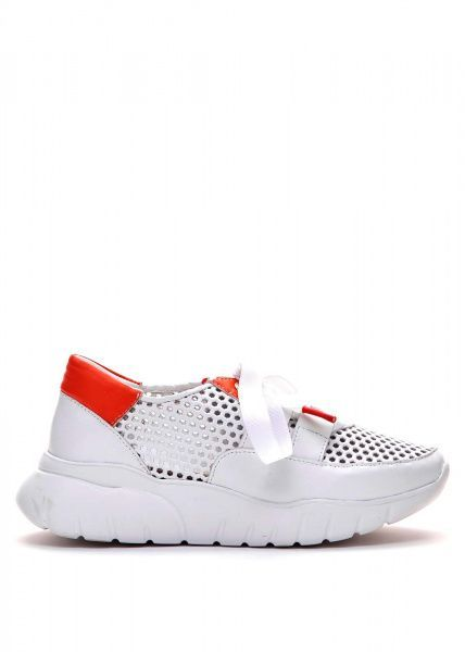 Купить Кроссовки женские 563117 Белые кожаные кроссовки 563117, Modus Vivendi