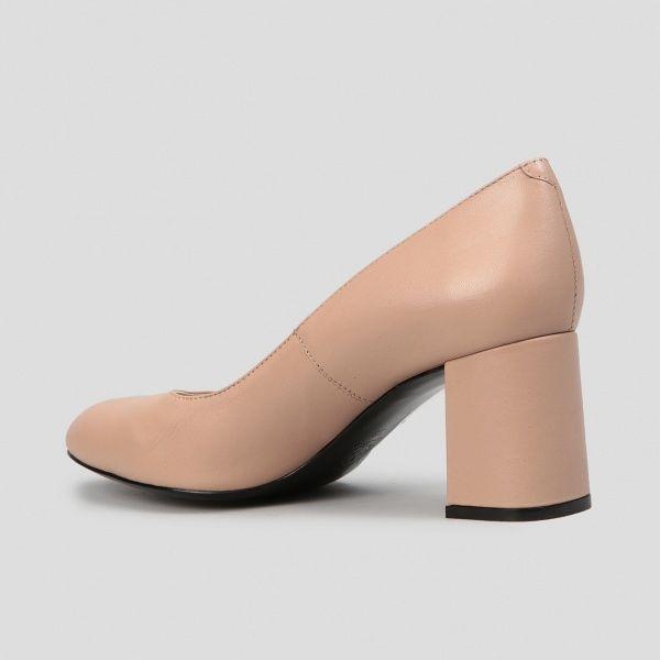 Туфли женские Лодочки 56314516 розово-бежевая кожа 56314516 брендовая обувь, 2017