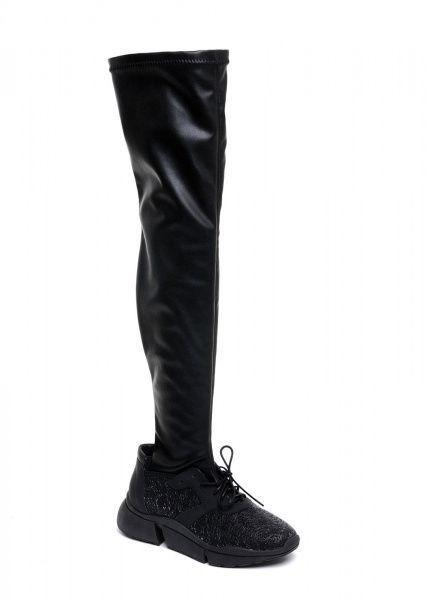 женские 565109 Кожаные кроссовки с чулком Modus Vivendi 565109 цена, 2017