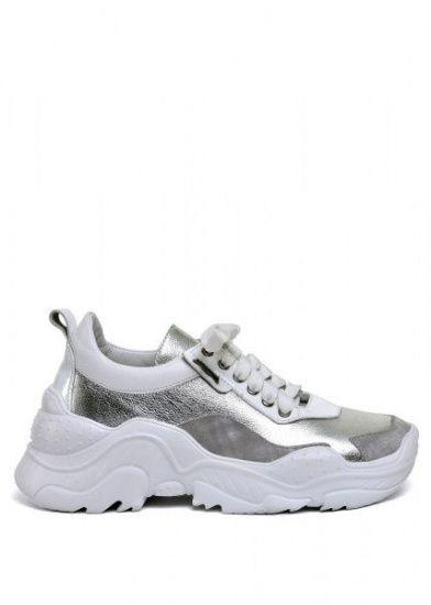 """для женщин 565500 Белые кожаные кроссовки """"Ugly shoes"""" Modus Vivendi 565500 купить в Интертоп, 2017"""
