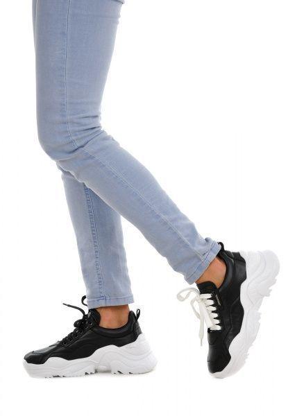 женские 565510 Черные кожаные кроссовки Modus Vivendi 565510 купить в Интертоп, 2017