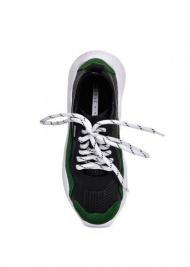 """женские 565520 Кожаные кроссовки """"Ugly shoes"""" Modus Vivendi 565520 купить онлайн, 2017"""