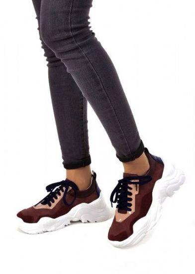 """женские 565530 Кожаные бордовые кроссовки """"Ugly shoes"""" Modus Vivendi 565530 продажа, 2017"""