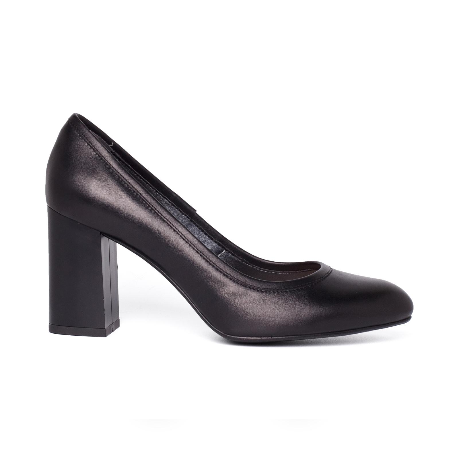 Туфлі  жіночі Лодочки 57600115 чорна шкiра 57600115 брендове взуття, 2017