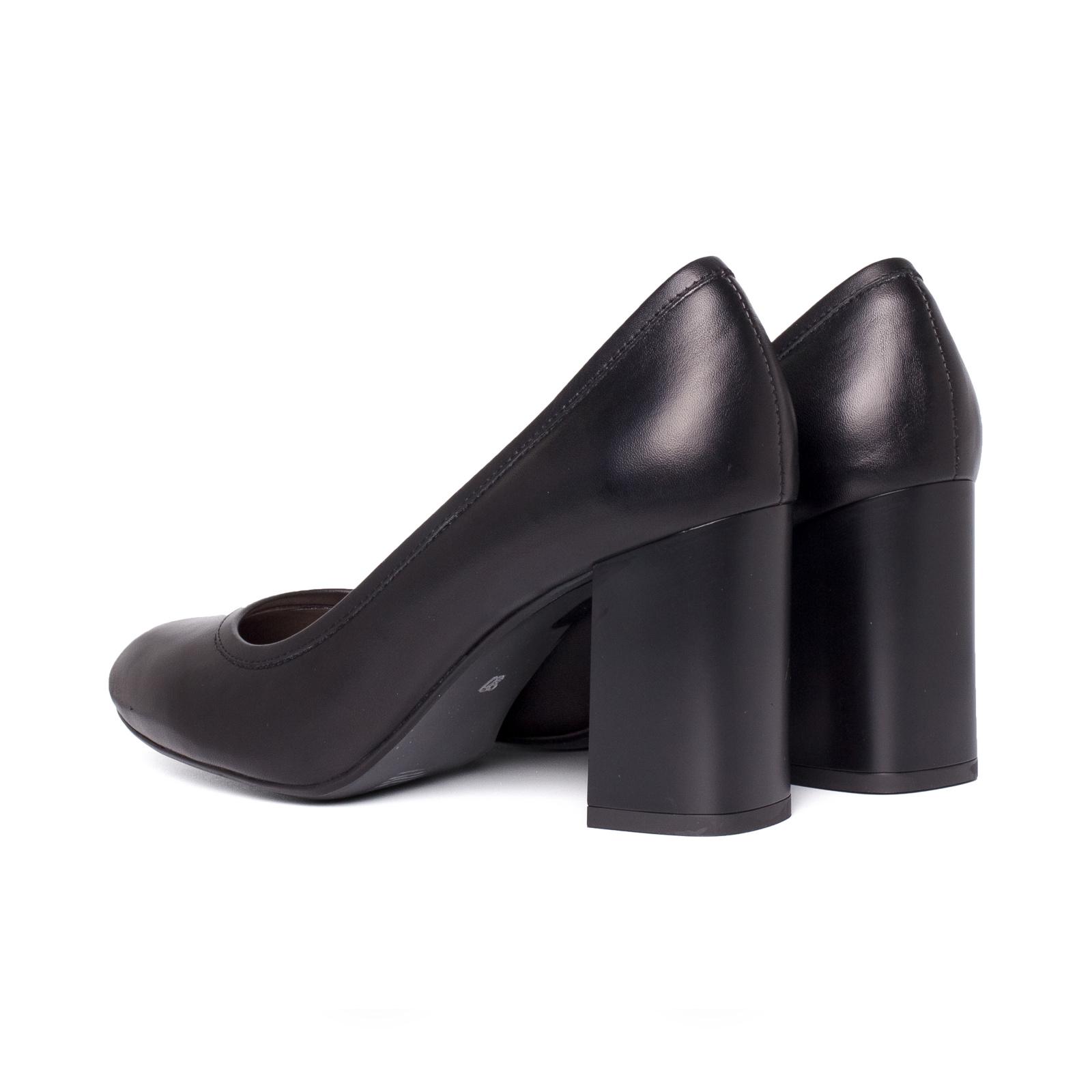 Туфлі  жіночі Лодочки 57600115 чорна шкiра 57600115 ціна взуття, 2017