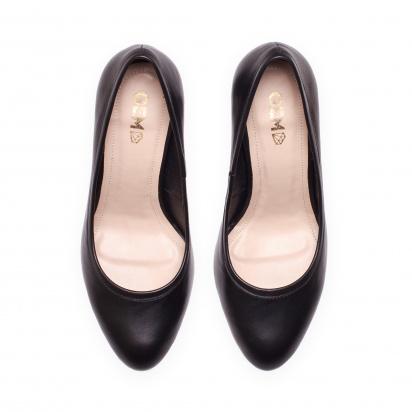 Туфлі  жіночі Лодочки 57600115 чорна шкiра 57600115 купити в Iнтертоп, 2017