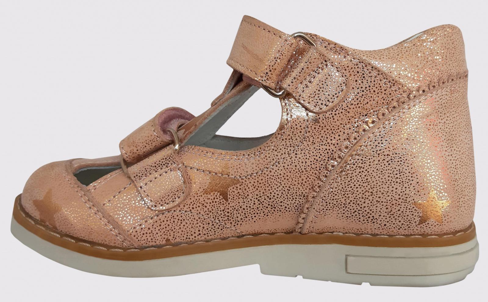 Туфли для детей Perlina 58PUDRA брендовые, 2017