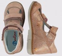 Туфли для детей Perlina 58PUDRA размерная сетка обуви, 2017