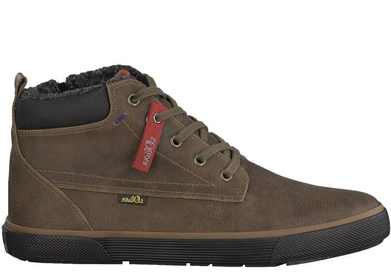 Ботинки для мужчин S.Oliver 5M74 брендовые, 2017