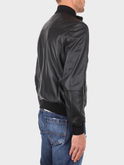 Шкіряна куртка Emporio Armani модель 01B51P-01P50-999 — фото 3 - INTERTOP