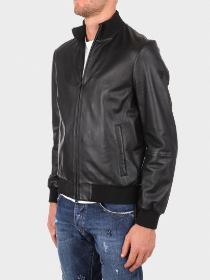 Шкіряна куртка Emporio Armani модель 01B51P-01P50-999 — фото 4 - INTERTOP