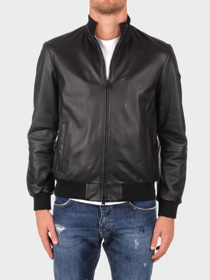 Шкіряна куртка Emporio Armani модель 01B51P-01P50-999 — фото - INTERTOP