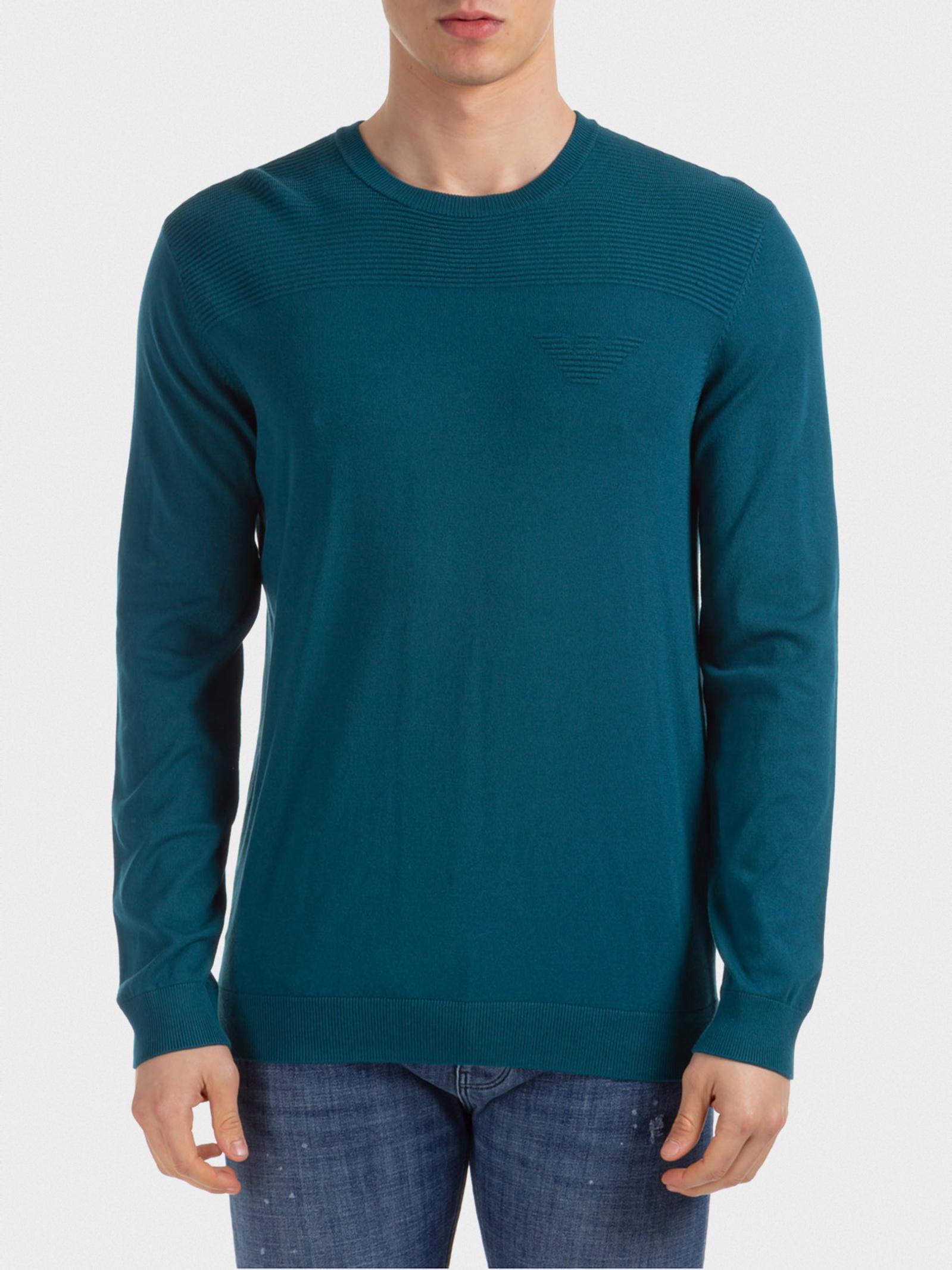 Emporio Armani Кофти та светри чоловічі модель 3H1MY3-1MMSZ-0955 якість, 2017