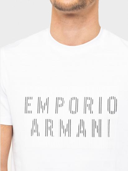 Футболка Emporio Armani модель 3H1TB7-1J30Z-0102 — фото 4 - INTERTOP