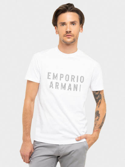 Футболка Emporio Armani модель 3H1TB7-1J30Z-0102 — фото - INTERTOP