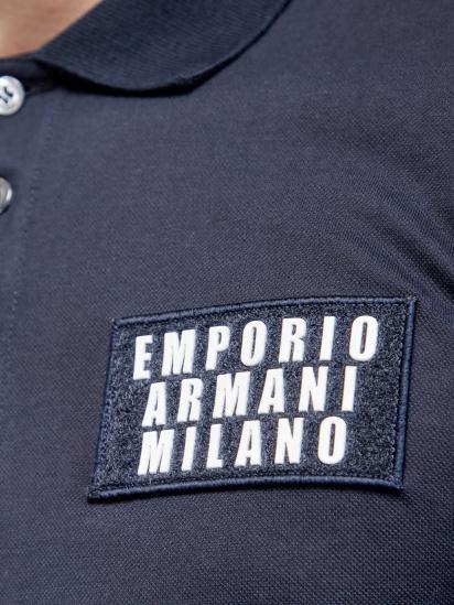 Поло з коротким рукавом Emporio Armani - фото