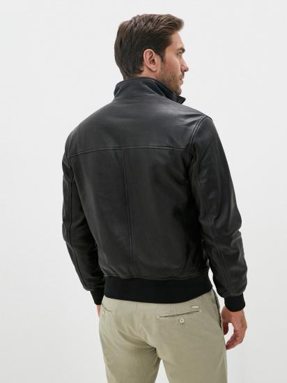 Шкіряна куртка Emporio Armani модель 91B52P-91P52-999 — фото 2 - INTERTOP