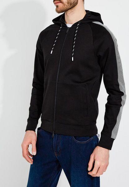 Кофта спорт для мужчин Emporio Armani MAN JERSEY SWEATSHIRT 5O187 одежда бренда, 2017
