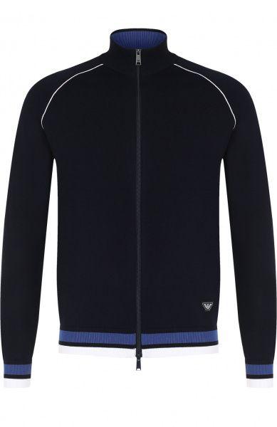 Кофта спорт мужские Emporio Armani MAN JERSEY CARDIGAN 5O190 размеры одежды, 2017