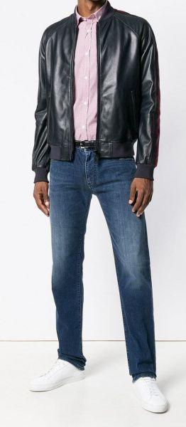 Emporio Armani Куртка шкіряна мужские модель 5O506 приобрести, 2017