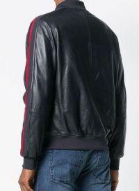 Куртка кожаная мужские Emporio Armani модель 5O506 качество, 2017