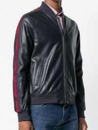 Куртка кожаная мужские Emporio Armani модель 5O506 купить, 2017