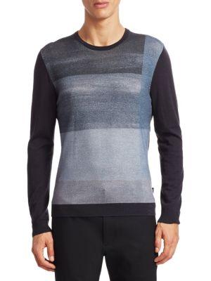 Пуловер для мужчин Emporio Armani MAN JERSEY PULLOVER 5O51 бесплатная доставка, 2017