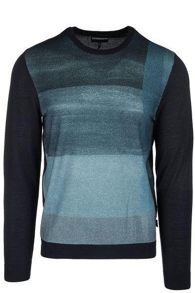 Пуловер для мужчин Emporio Armani MAN JERSEY PULLOVER 5O51 цена, 2017